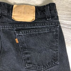 Vintage Levi's Orange tab denim jeans - size 34
